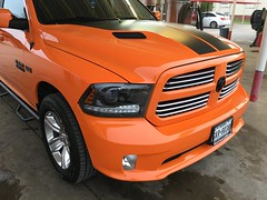 IMG_3693 (Smalltowntx87) Tags: orange sport cab wheels pickup automotive semi tires crew american dodge plus trucks washed hemi ram 1500 v8 detailed ignition iphone 2015 6s 57l