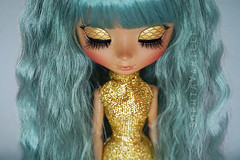 It's been a while... ( Sophia Vanille ) Tags: fish cute golden doll ooak pastel kawaii customized pullip lovely mermaid custom pullipdoll junplanning cutepullip