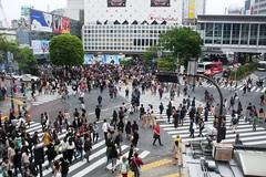 Shibuya crossing (secondfloor - silvia izzi) Tags: people japan tokyo asia shibuya giappone zebracrossing urbanity modernasia