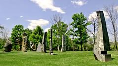Pyramid Hill Stones (chuck madden) Tags: ohio sculpture art hamilton pyramidhill chuckmadden