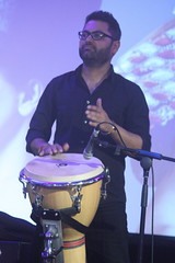 Shapla Salique (2016) 06 (KM's Live Music shots) Tags: india drums djembe worldmusic southbankcentre alchemyfestival alokverma lalongeeti fridaytonic shaplasalique