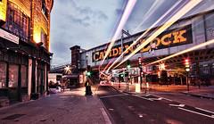 Camden Town at Sunrise | Light Trails - London Urban Landscape Photography (Nicholas Goodden) Tags: urban london sunrise landscape photography cityscape view dusk camden famous camdenmarket landmarks routemaster lighttrails iconic camdentown doubledecker touristic londonbus urbanphotography camdenlock