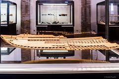 Comacchio (Anita Pravits) Tags: italien italy museum italia ship museo schiff romanempire emiliaromagna comacchio modelship schiffsmodell rmischesreich handelsschiff tradingship museodellanaveromana