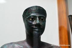 6th dynasty king (konde) Tags: statue museum ancient cairo copper oldkingdom hierakonpolis 6thdynasty pepii