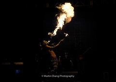 Fire Eater (Martin Chang Photography) Tags: canada nikon performance fireeater carassauga martinchangphotography 2016carassauga
