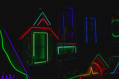 IMG_6602 (CassinStacy) Tags: new mystery museum mexico wolf neon spooky fantasy meow fe trippy sante