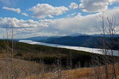 Big Fox Lake with Ice Cover (MIKOFOX  Thanks for Visiting!) Tags: lake canada mountains ice clouds landscape spring may yukon xt1 minersrange bigfoxlake fujifilmxt1 xf18135mmf3556rlmoiswr screwtheautotagbot mikofox