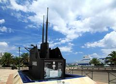 Bastia (France - Corse) (jaroslavhruska) Tags: france island boat ship corse submarine cannon oldtown francie machinegun bastia ostrov msto architektura lo moe cestovn oldsubmarine desperadocz