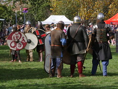 Ready for Battle (Klene Hilda) Tags: carnival hamilton medieval