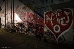 Street Style in Shibuya (Masahiko Futami) Tags: street city reflection japan night canon graffiti tokyo shibuya         eos5dmarkiii citytraveler
