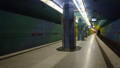 Candidplatz (Pamela Marklew) Tags: underground subway munich mnchen ubahn candidplatz
