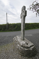 Cooley Cross east facing side (backpackphotography) Tags: ireland cross monastery monolith donegal cooley moville highcross loughfoyle skullhouse backpackphotography cooleycross