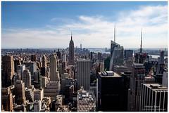 Manhattan view (Moyse911) Tags: park new york city urban rescue usa newyork building love rock brooklyn jaune square liberty fire amazing fuji state time top manhattan taxi great central grand libert empire bigapple flatiron ville unis amricain xe1 amerique tats xt1 dowtone mildeltown