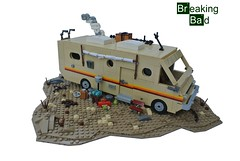 Breaking Bad Camper (-Balbo-) Tags: lego bad creation rv camper bauwerk breaking moc imperiumdersteine