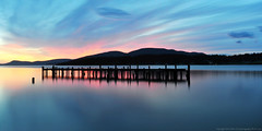 2016-05-22 Sunset (03) (Long Exposure) (2048x1024) (-jon) Tags: park longexposure sunset sky cloud abandoned silhouette clouds pier dock tramonto sonnenuntergang skagit pugetsound sanjuanislands anacortes washingtonstate  puestadelsol skagitcounty coucherdusoleil   guemeschannel salishsea  fidalgoisland matahariterbenam    navenue cityofanacortes a266122photographyproduction