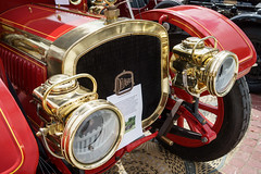 _DSC1603  splended 1911 Delahaye Charabank. (Seaton Carew.) Tags: beautiful brass bournemouth veryold gleaming splendid veryrare solidtyres wheelsfestival