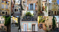 La-Roquette... (RS...) Tags: collage maisons colourful provence arles color mosaque laroquette
