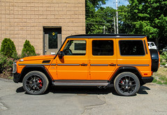 2016 Mercedes-AMG G 65 Crazy Color Edition (Rivitography) Tags: orange newyork car canon rebel automobile 4x4 exotic adobe mercedesbenz t3 expensive suv luxury amg lightroom crazycolor 2016 goldensbridge g65 rivitography