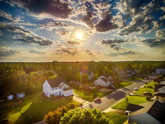 First Sunny Day in Three Weeks (m16brooks) Tags: blue sunset sun beautiful clouds sunny hdr sunnyday drone phantom3 dji hdrphoto