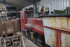 Diesellokomotive D21 Deutz GZ 30 B / 56950 / 1958 / A2M517 / 2436178 2436179 / 30 PS in Frankfurter Feldbahn Museum 21-05-2016 (marcelwijers) Tags: b rot 30 museum germany deutschland am diesel frankfurt main eisenbahn railway loco ps german 1958 loc bahn gauge narrow spoor frankfurter duitsland gz rode rote lok deutz d21 locomotief schmalspur smalspoor feldbahn diesellokomotive 56950 lokomotief veldspoor a2m517 21052016 2436178 2436179