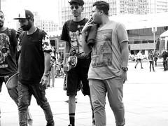 The Goodfellas in Alex (michele.tedesco) Tags: street bw berlin alex boys germany style skaters bn skate alexanderplatz bianco nero goodfellas germania berlino rascals