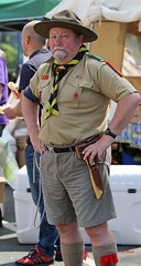 Brighouse 1940s Weekend 2016 - KV8A9534 (grab a shot) Tags: uk england man canon vintage eos war uniform outdoor yorkshire wwii scout 1940s ww2 reenactment westyorkshire civilian worldwar2 oldfashioned livinghistory brighouse 2016 calderdale warweekend 7dmarkii