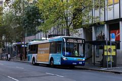 "2016-05-14 STA 2699 Australia Sq-Pitt St (Dean ""O305"" Jones) Tags: street new city bus buses st wales square floor state metro south au low authority transport sydney australia transit nsw optimus cbd pitt sta iveco volgren 2699st"