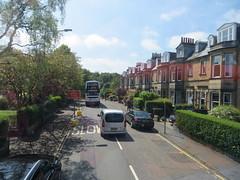 Braid Road from the bus, Edinburgh, May 2016 (alljengi) Tags: bus edinburgh lrt morningside 2016 braidroad