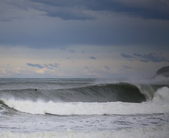 Empty (simon60d) Tags: ocean sea sky seascape beach nature clouds fun outdoors big amazing surf waves power surfer surfing headland