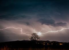 Thunder Lightning over Livorno (Italia) (iaso) Tags: thunder lightning thunderstruck thunderstorm thunderbolt nightlandscape nightscape nightphotography nighttime night storm temporale tempesta badweather raining rain fulmine