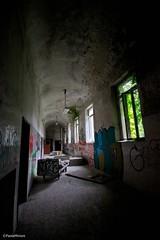Posti sbagliati (paolaji) Tags: abandoned hospital bed asylum letto illness ospedale disagio abbandonato degrado limbiate mombello psichiatrico
