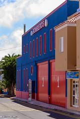 Bomberos. (I'mDKB) Tags: blue santiago red station fire nikon october tenerife 70300mm canaryislands bomberos islascanarias canaryisles 2013 lascanarias nikond600 70300mmf4556 lr5 delteide 7003000mmf4556 imdkb lightroom5