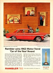 1963 Rambler Classic 770 4-Door  Sedan (aldenjewell) Tags: classic car sedan year ad award motor trend rambler 770 1963 the 4door of
