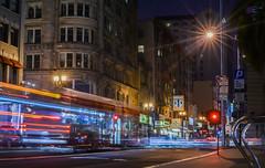 38 (pbo31) Tags: sanfrancisco california city urban motion black color bus northerncalifornia june night dark evening spring nikon traffic motionblur muni bayarea unionsquare 38 roadway 2016 lightstream boury pbo31 d810
