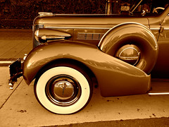1938 Buick Series 90 (kenjet) Tags: auto old classic car sepia vintage buick automobile 1938 transportation vehicle series90 1938buick buickseries90 1938buickseries90
