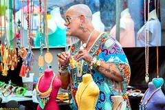 Colorful (Emil de Jong - Kijklens) Tags: markkt kraam kleur kleuren kleurijk tatoo detailhandel amsterdam