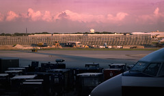 (trentwexler) Tags: travel sunset airplanes sunsets wanderlust planes lust airports wander