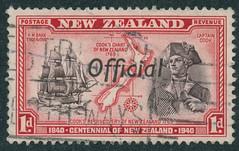 Cook (- Jan van Dijk) Tags: newzealand cook stamp nz mtcook postage postzegel briefmarken briefmark