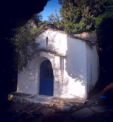 Lost chapel (angeloska) Tags: church nature architecture forest lost religion ikaria aegean chapel greece   karavostamo  opsikarias