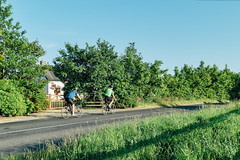 On The Road (Simon_Bates) Tags: cyclingleinster 2016 35mm house ireland leica m9 summicron wexford active bike cycling evening green journey landscape mamil men outdoor people road rural simonbates sky sport summer tourism route1 travel