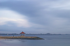 DSC01746 (aisiew_lim) Tags: longexposure blue bali seascape indonesia hut candidasa