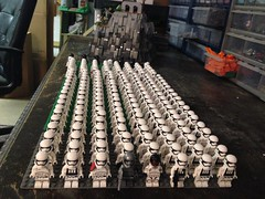 Lego first order stormtrooper army (Carson Tate) Tags: trooper army star starwars order force lego first captain stormtrooper wars pilot tiefighter snowtrooper awakens phasma flametrooper