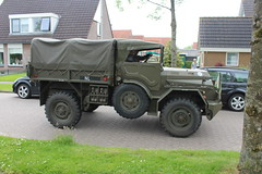1958 DAF YA 126 / 3.5 WEP (Davydutchy) Tags: netherlands truck army ride military web may nederland hobby voiture lorry vehicle frise rit 35 heer convoy paysbas ya friesland ton armee 126 leger niederlande militr daf reenacting lkw 2016 frysln militair frisia rondrit langweer wep tocht langwar kolonne ya126 poidslourd legervoertuig legergroen