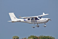 "G-JABU Jabiru J430 S D Miller Sturgate Fly In 05-06-16 (PlanecrazyUK) Tags: sturgate egcs ""fly in"" 050616 ""lincoln aero club ltd"" gjabu jabiruj430 sdmiller flyin"