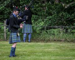 Piping Practice (FotoFling Scotland) Tags: scotland kilt argyll event piper lochlomond highlandgames bagpipe luss meninkilts lusshighlandgames lussgathering