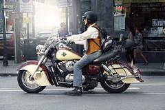Bike (Corentin Hauvet) Tags: road uk londres biker motard