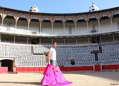 Serafn Marn (Pasquina14) Tags: barcelona plaza toros catalunya catalua catalan monumental torero taurina serafinmarin