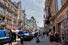 On the street (Jurek.P) Tags: street city architecture cityscape poland polska streetscene katowice jurekp sonya77