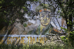 I am still watching you, Chernobyl. (Sean Hartwell Photography) Tags: abandoned station mural decay military nuclear disaster soldiers radioactive left radar decaying sovietunion ussr cccp chernobyl chernobyl2