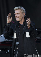Billy Idol - 2016 National Cherry Festival - Traverse City, MI - 7/3/16
